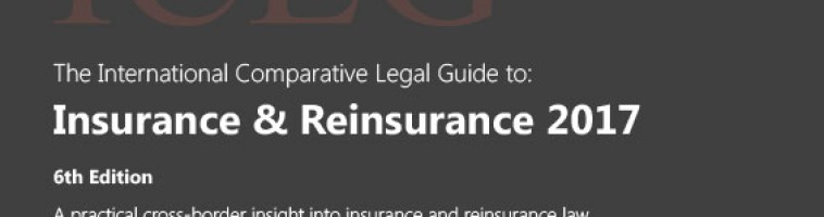 Insurance & Reinsurance 2017: New Publication by Chuo Sogo Law Office