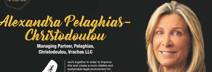 """Alexandra Pelaghias-Christodoulou, Managing Partner at Pelaghias, Christodoulou, Vrachas LLC and Globalaw member, was recently interviewed by """"Gold"""", the biggest Business Magazine of Cyprus"""